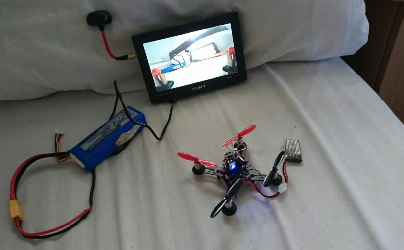 Homemade FPV monitor