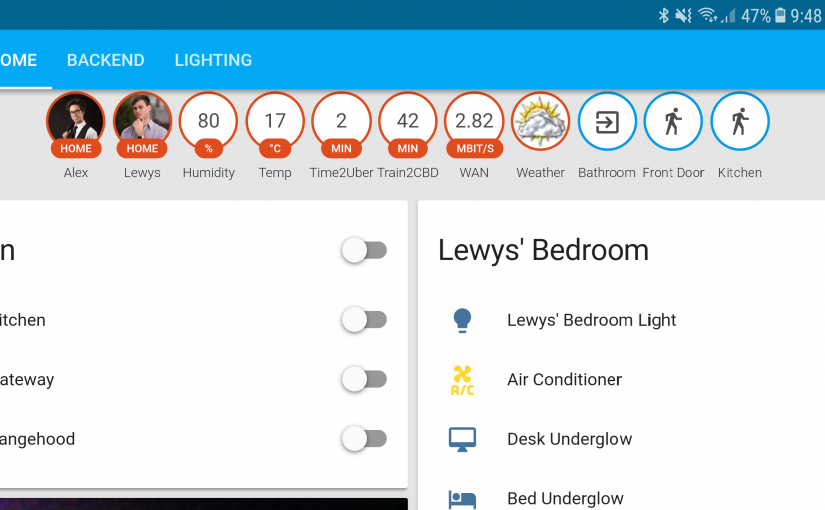 Why I play around with Home Automation